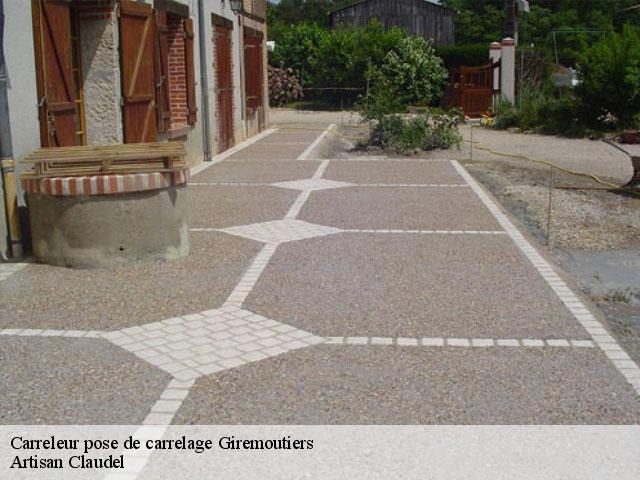 Carreleur pose de carrelage  77120