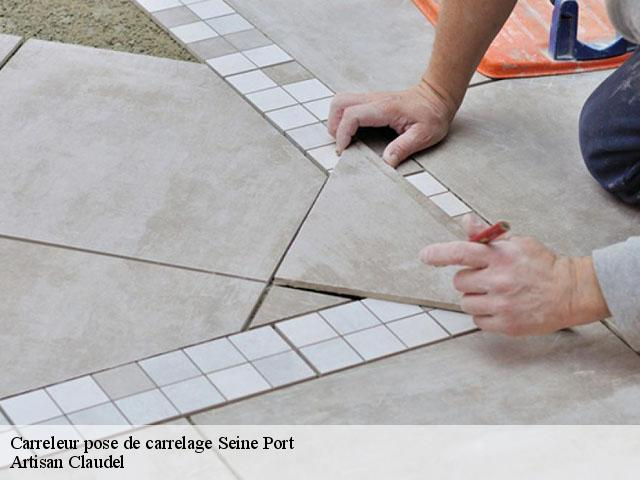 Carreleur pose de carrelage  77240