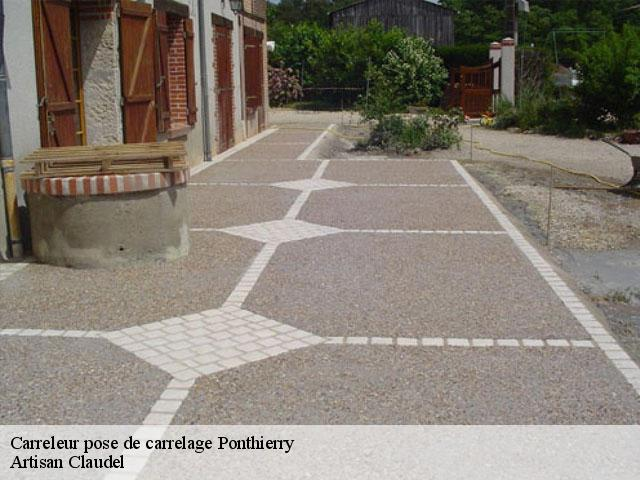 Carreleur pose de carrelage  77310